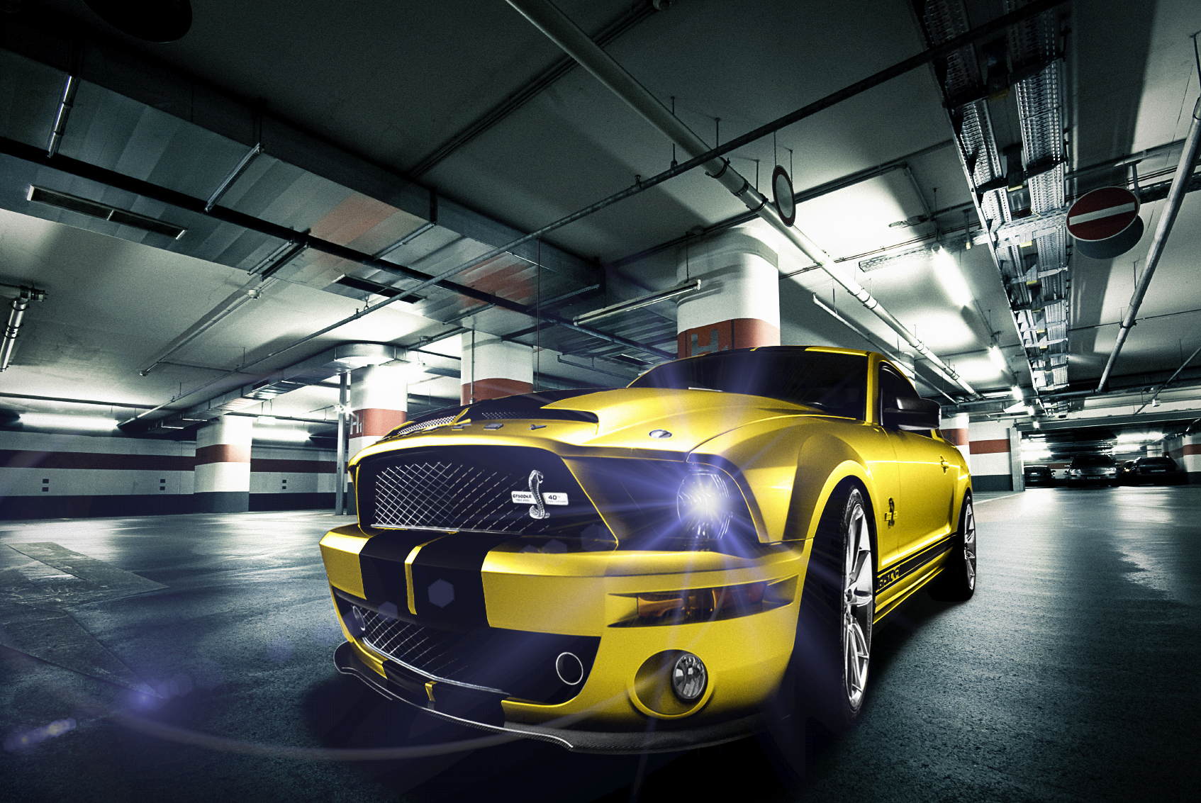 AndreaRavagnani_MustangGt500_Garage